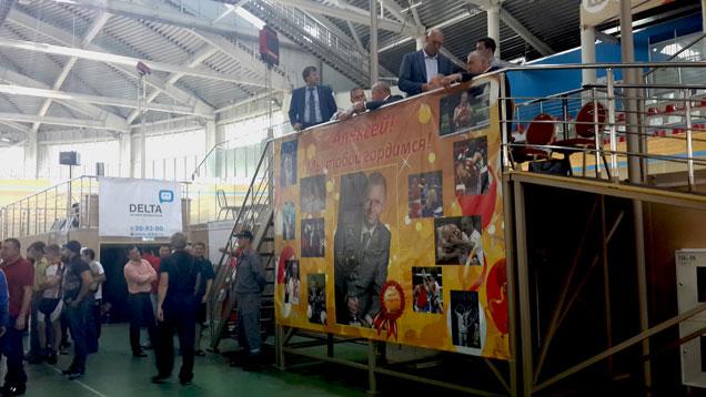 Охранники «Дельта-Омск» за работой