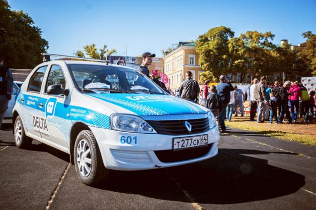 Охранник «Дельта-Саратов» следит за обеспечением безопасности мероприятия